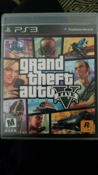 Grand Theft Auto Five Xbox 360 game case Coquitlam