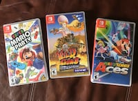 Nintendo Switch Mario Party, Tennis Aces and Wild Guns Charleston, 29403
