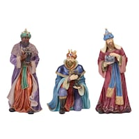 Outdoor Nativity 9-piece Set Holy Family, Indoor & Outdoor. Pre-Owned MIAMI