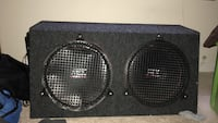 """MTX audio 12"""" speakers (amp included) Spring Valley, 10977"""