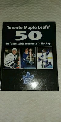 50 unforgettable moments in hockey book Cambridge, N3H 2N4