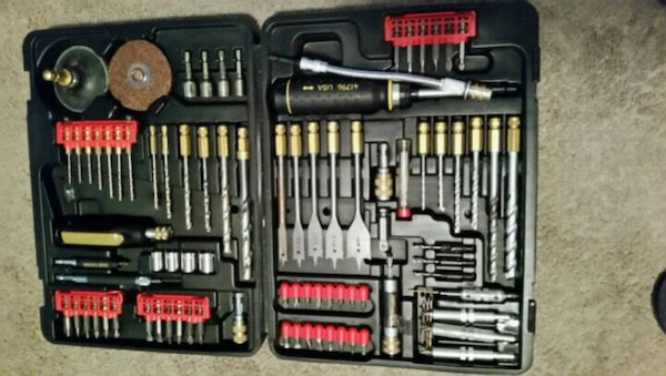 114 piece craftman's drill bit set metal and wood  2afc5ecb-6da6-464b-a1d2-233e186e2569