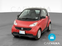 2015 smart fortwo coupe Pure Hatchback Coupe 2D Red