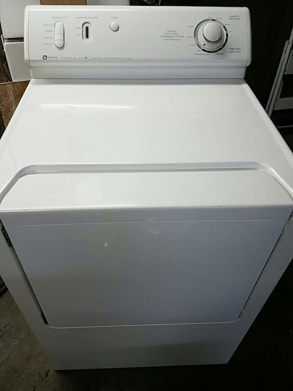Maytag Dryer Electric 220v Serviced With Warranty