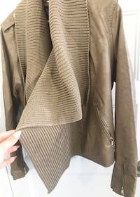 Jacket Size L faux leather AS NEW!! Laval, H7P
