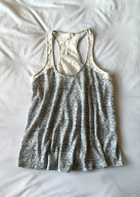 Grey And White Patterned Racerback Tank Top Richland, 99354