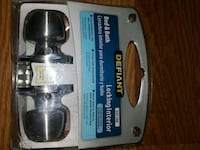 Defiant brand bed & bath locking interior knob set Oklahoma City