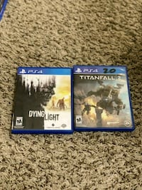 Dying Light and The Division PS4 game cases 903 km