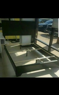 black and gray wooden TV stand Houston, 77013