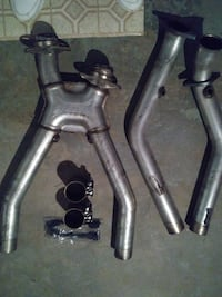 BBK off road x pipe for 99 04 mustang gt  Delaware County