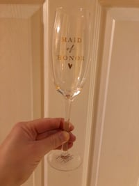 NEW Maid of Honor Champaign glass Mississauga, L4Z 4B5