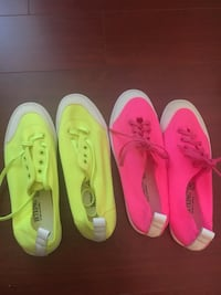 Brand new neon color shoes - Size 37