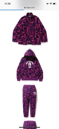 Undefeated Bape Hoodie Coquitlam