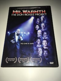 Mr.Warmth The Don Rickles Project Dvd 2 Disc Collectors Edition Comedy Montréal, H4G 1M2