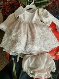girl's white floral dress Maryland Heights, 63043