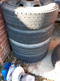 16s and 17s  12 tires total Warner Robins, 31098