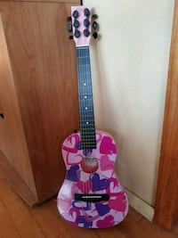 purple and black acoustic guitar Medford, 11763