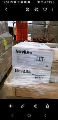 Navilite New Exit signs