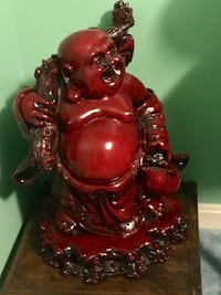 "Laughing Buddha Statue 18"" h for good luck."
