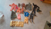Vintage Hasbro GI Joe Action Figures and Acessorie Louisville, 40245