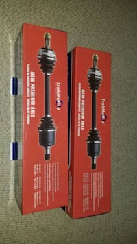 CV axles for SUV or truck.
