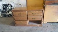 brown wooden 3-drawer chest Lawton, 73507