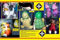 Stuffed Plush Toys - Includes Sesame Street Mini Bean Rubber Duckie, Cat Pound Pur-R-Ries, And MyBuddy Lee's Summit