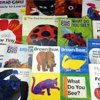 Lot 15 Eric Carle Board & Picture Story Books Children Classroom Set Collection Port Colborne