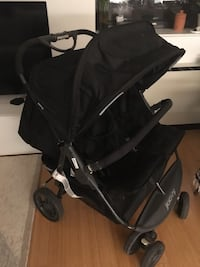 Baby's black stroller double joovy less than a year old New York, 11201