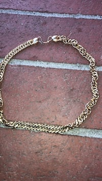 silver-colored chain link necklace Spring Valley, 91977