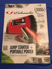 New Schumacher jumpbox and portable power source  model SL1316  Anderson, 29621