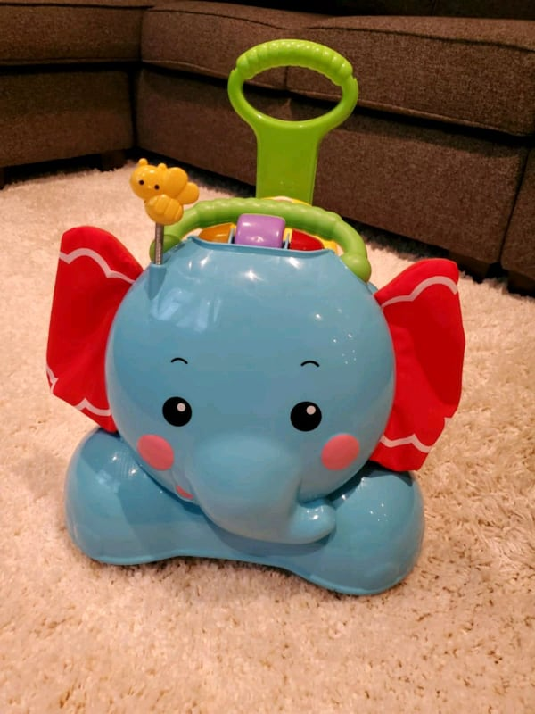 Fisher-Price 3-in-1 Bounce, Stride and Ride Elephant   3fc58784-b165-4ef0-a9e1-5ca3f486f7d3