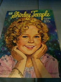 1976 Shirley Temple paper doll book