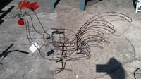 rooster wire planter  WILMINGTON