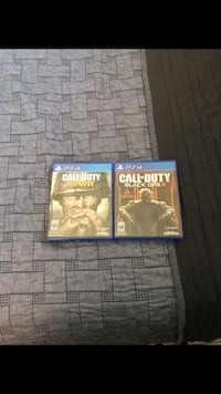 three assorted PS4 game cases Hialeah, 33012