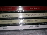 Four Jazz CD's Brampton, L7A 1R9