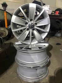 Summer tires and Volks jetta mags Laval, H7V 2V7