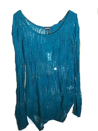 Women's Turquoise Blouse 67 km