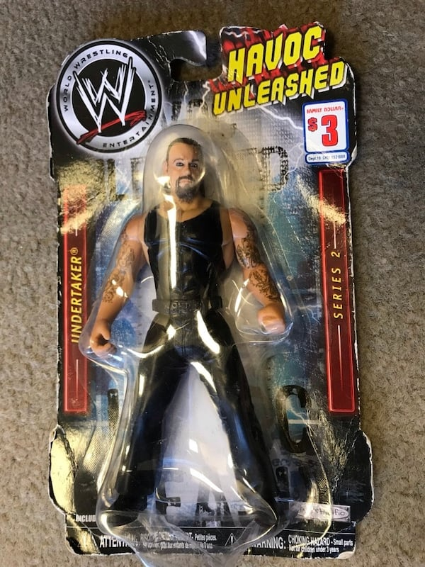 "WE Havoc Unleashed ""the Undertaker"" Action Figure Series 2 by Jakks Pacific 9b80b602-8e92-4592-b6c0-b0e99c0a448a"