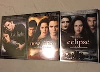 Twilight Trilogy - 3 Deluxe/Special Edition DVDs Whitby, L1R 0H6