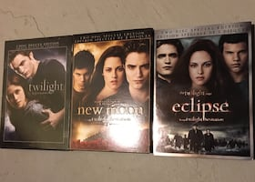 Twilight Trilogy - 3 Deluxe/Special Edition DVDs