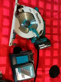 white and blue Makita miter saw Oakland, 94621