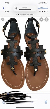 Tory Burch sandals.   Elba Baltimore, 21212