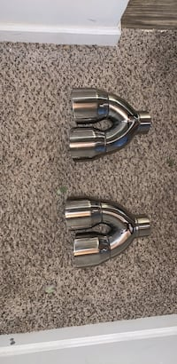 2.5 inlet 3.0 Outlet Quad Exhaust Tips For 2010-2015 Chevy Camaro Brand New Never Been Use Birmingham
