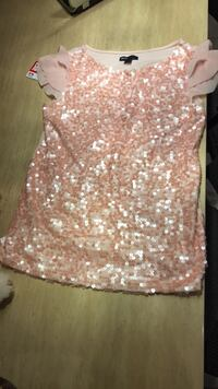 Women's pink and white floral sleeveless top Richmond Hill, L4E 5A6