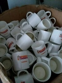 Little Dunkin Donut coffee mugs with candles in th Pulaski, 24301