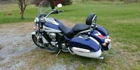 blue and black touring motorcycle 44 km