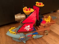 Shark Pirate Ship  Burke