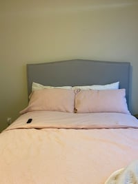 Grey Headboard for Queen size bed