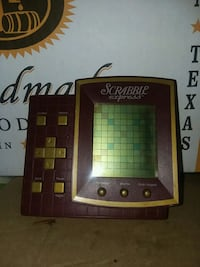 Scrabble electronic handheld game